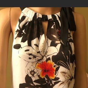2 White House|Black Market Dressy Sleeveless Tops